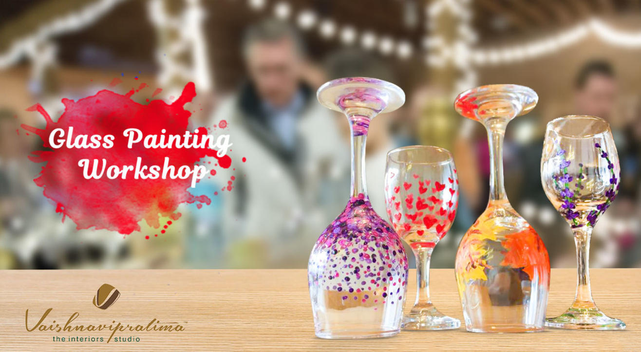 Glass Painting Workshop - Diwali Special