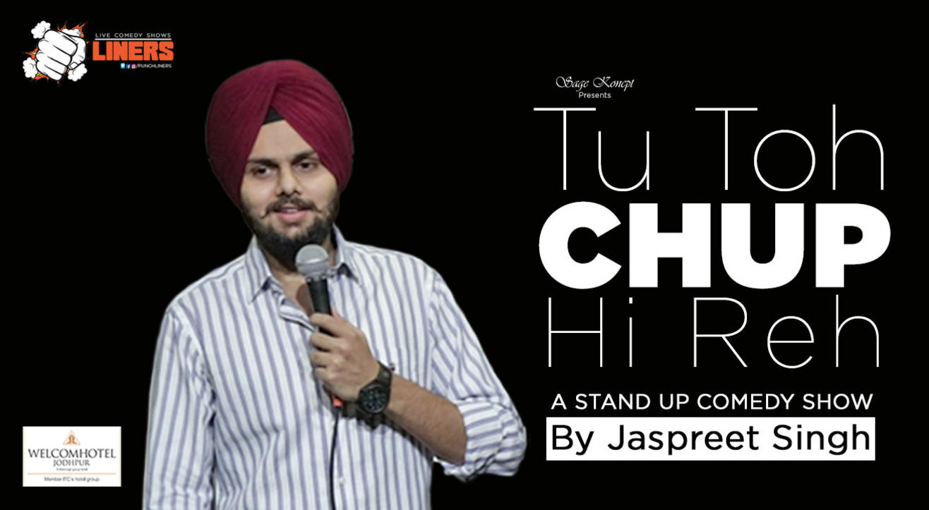 Punchliners: Standup Comedy Show ft. Jaspreet Singh in Jodhpur