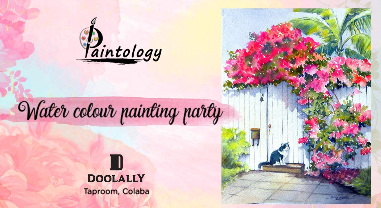 A Water Color Painting Party By Paintology
