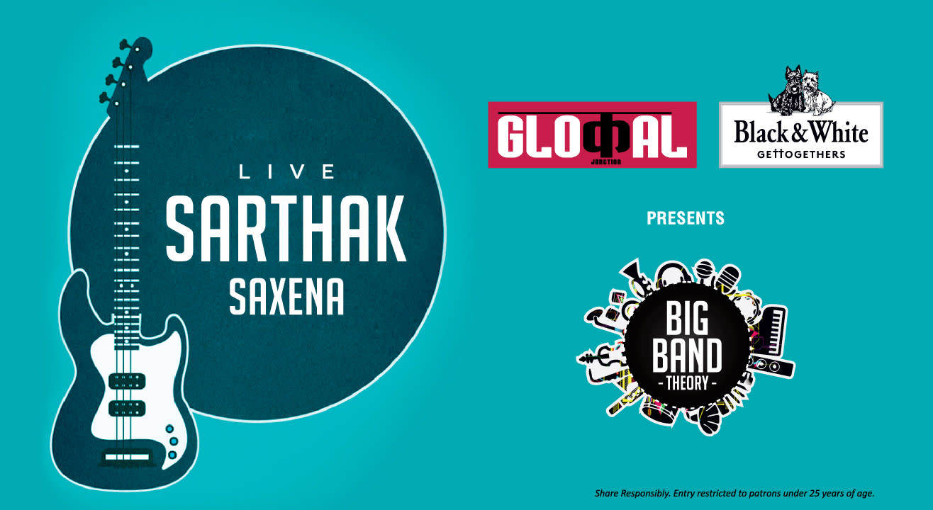 Live Indie Rock Night With Sarthak Saxena