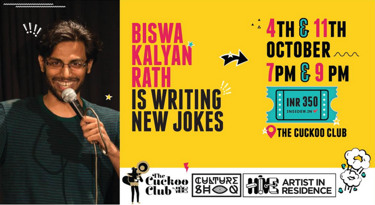 Biswa Kalyan Rath Is Writing New Jokes