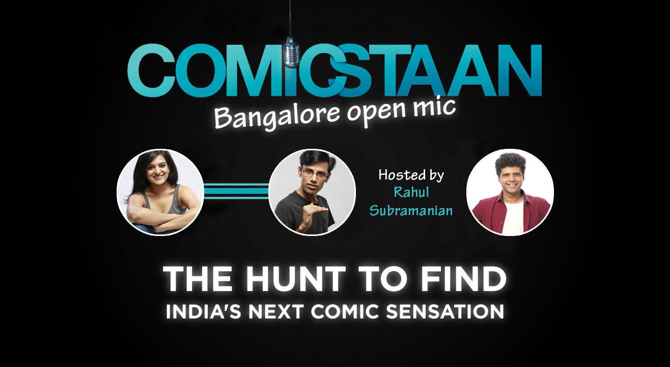 Comicstaan Open Mic, Bangalore