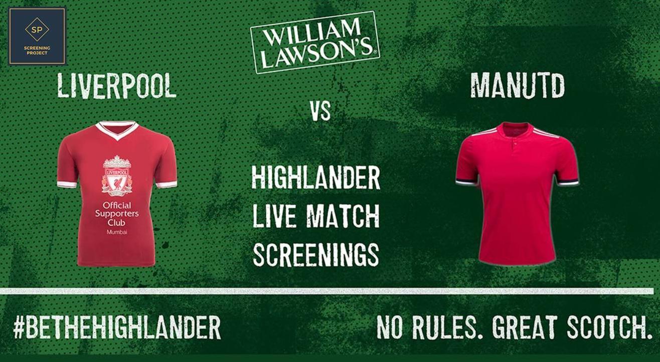 Liverpool v Manchester United Screening, Mumbai