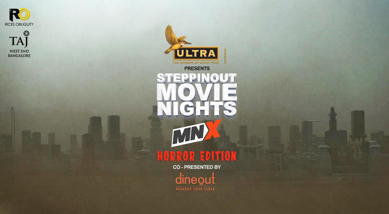 SteppinOut Movie Nights - Horror Edition, Bangalore