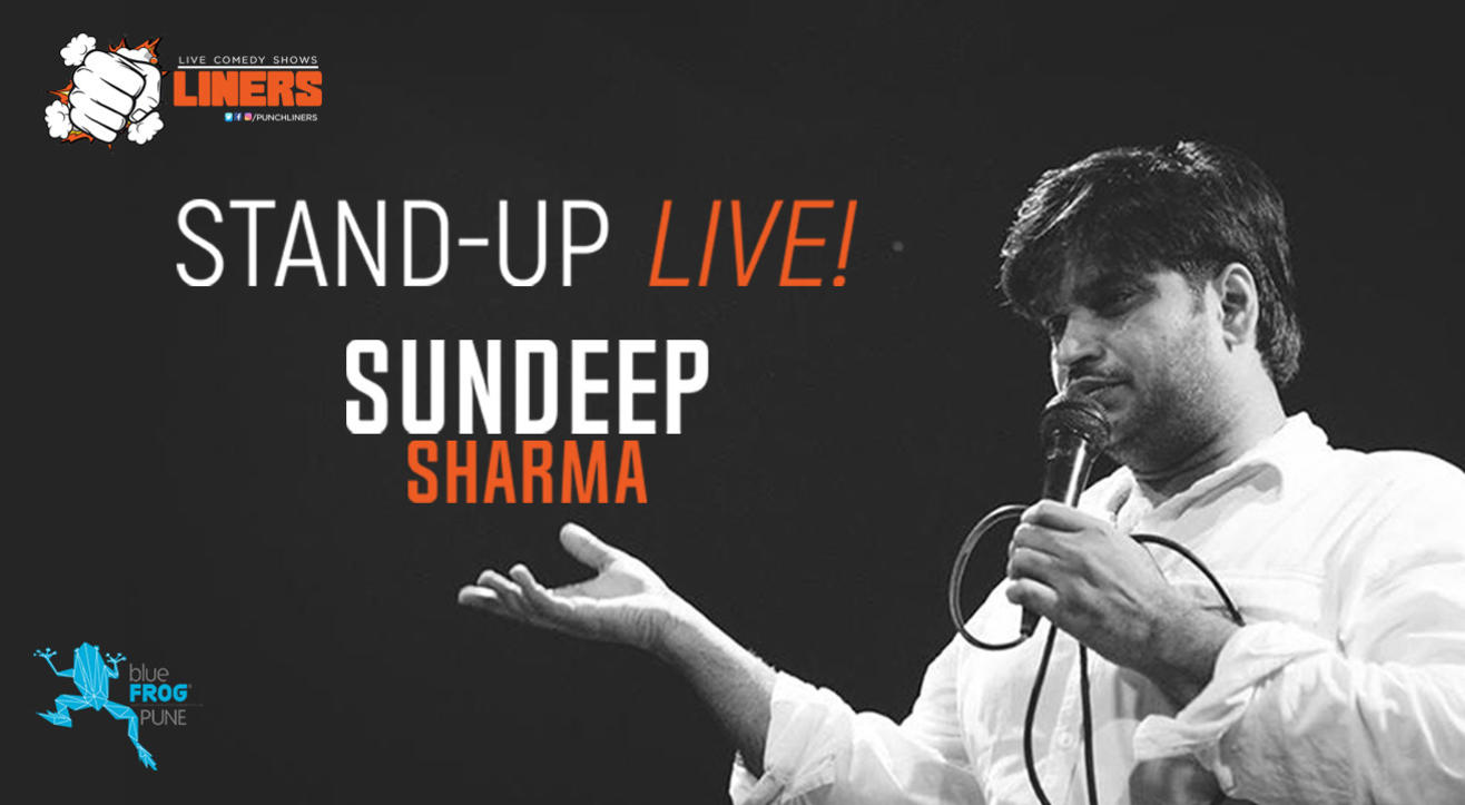 Punchliners Presents: Sundeep Sharma Live
