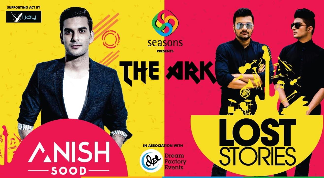 The Ark - Anish Sood and Lost Stories Live