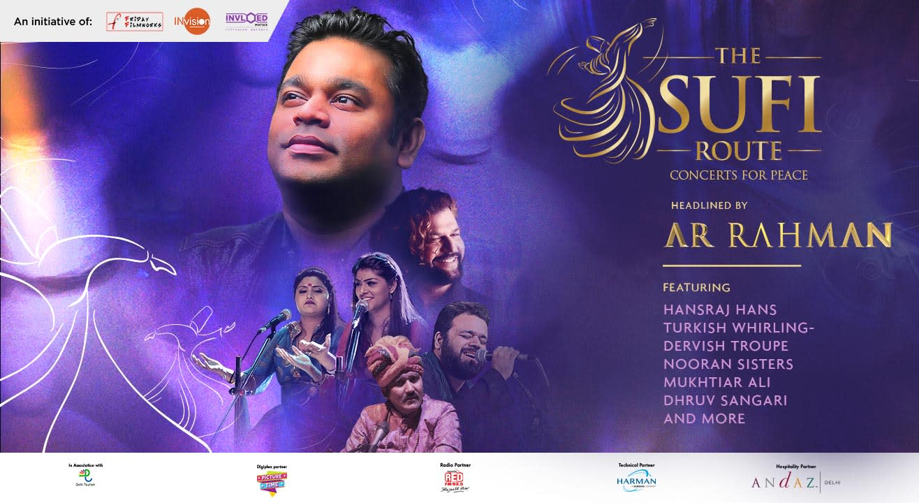 The Sufi Route – Concerts For Peace ft AR Rahman, Delhi