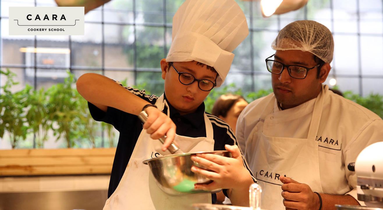 Patisserie for Petit Chefs; The Cookery School at CAARA