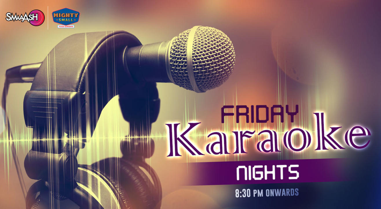Karaoke Night at Smaaash!