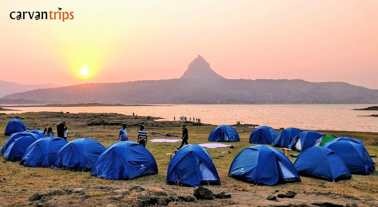Camping Next to a Serene Lake