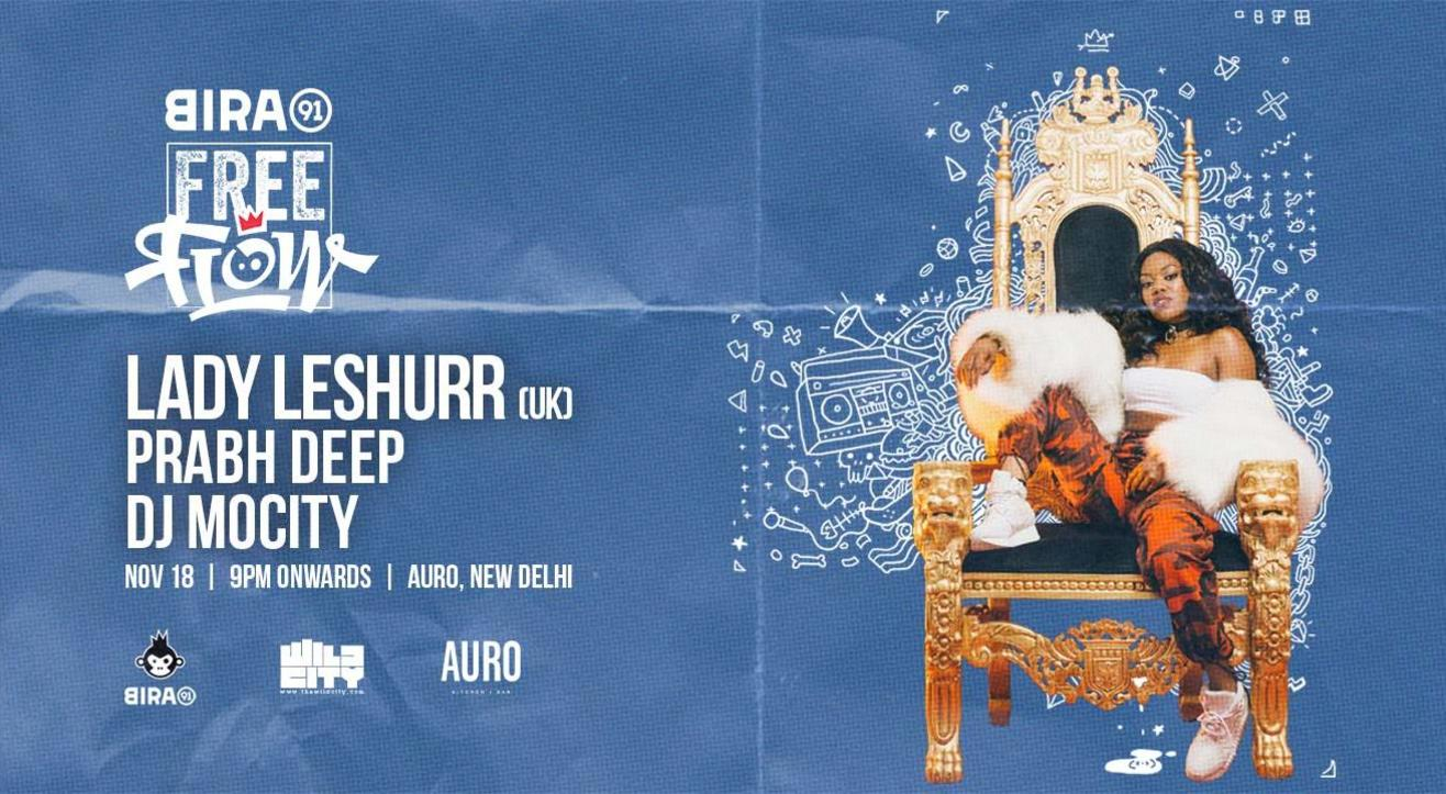 Bira 91 FreeFlow ft Lady Leshurr, Prabh Deep & DJ MoCity
