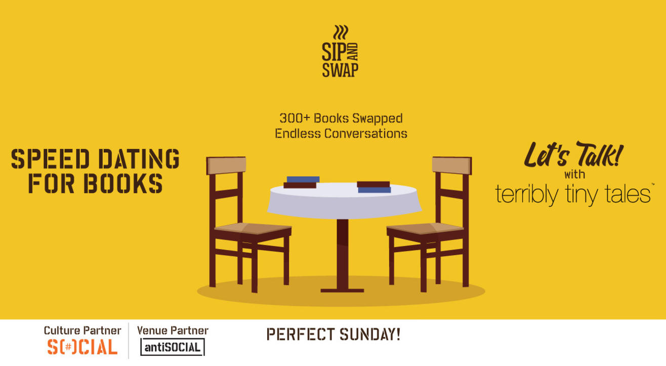 Sip And Swap : Let's Talk!
