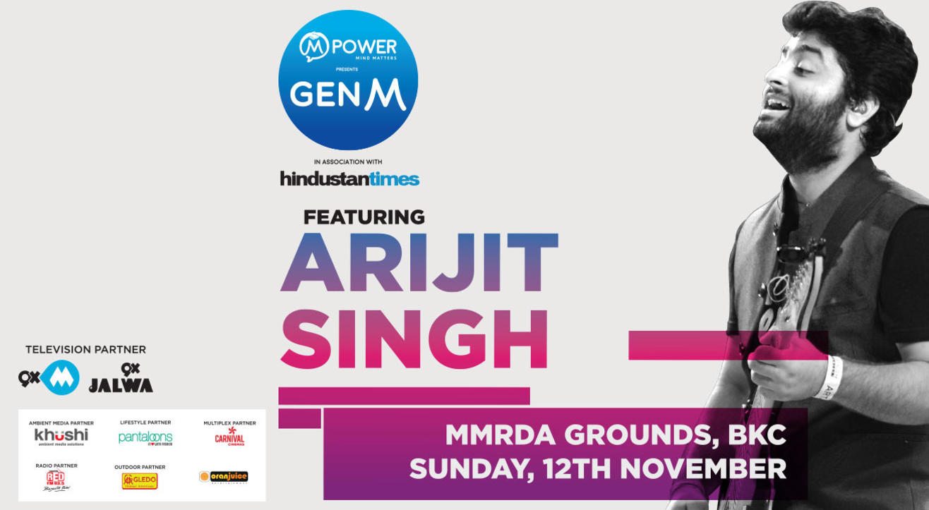Mpower Presents GenM featuring Arijit Singh