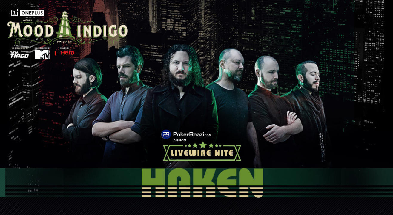 Haken: Livewire Nite at Mood Indigo