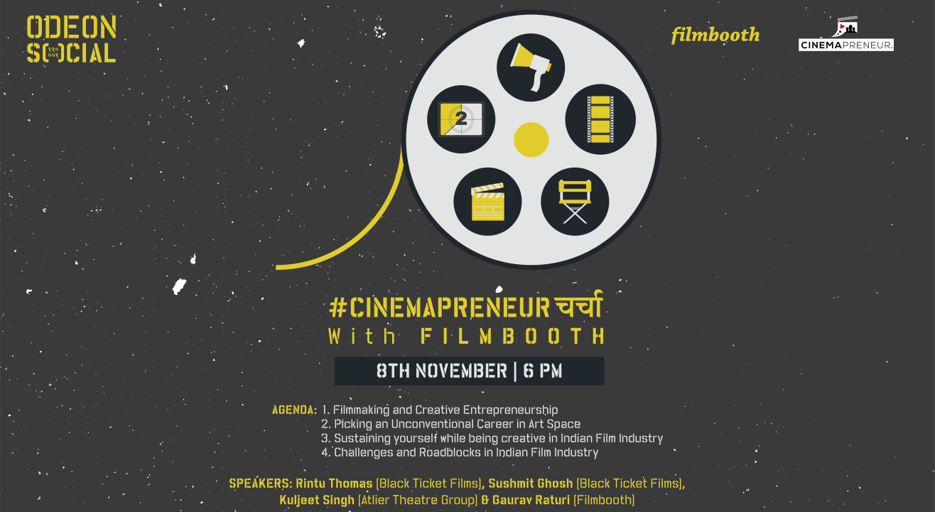 Social Presents #Cinemapreneurचर्चा with Filmbooth