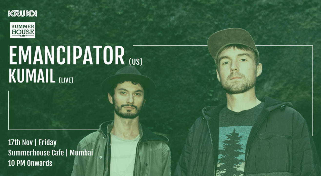 KRUNK Presents: Emancipator | Support: Kumail (Live)