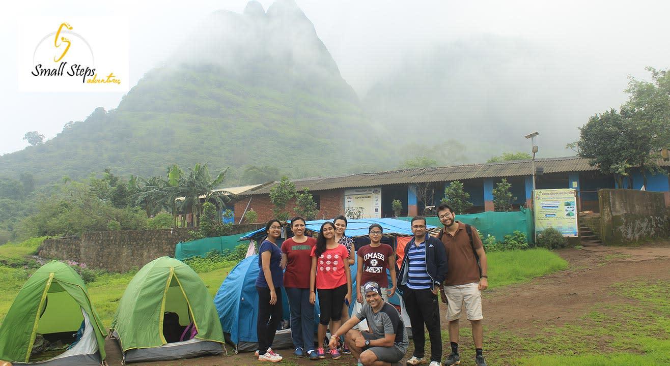 Night Trek And Camping At Kalavantin