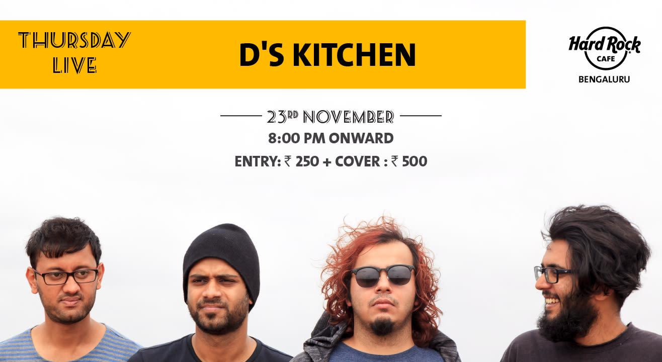 D's Kitchen - Thursday Live!