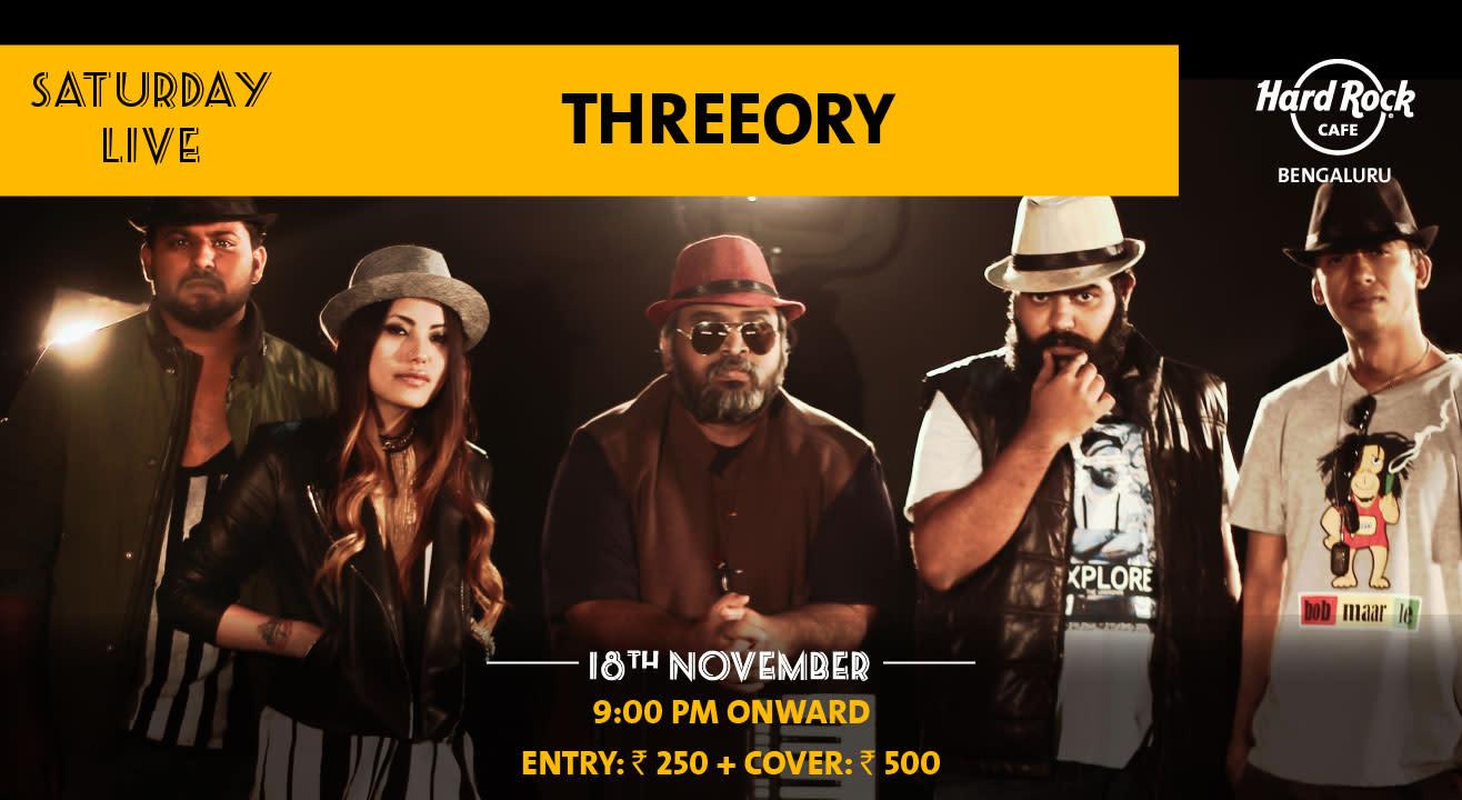 Threeory - Saturday Night Live!
