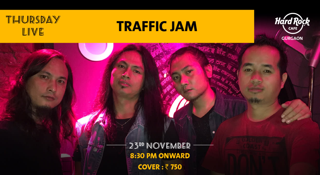 Traffic Jam - Thursday Live!