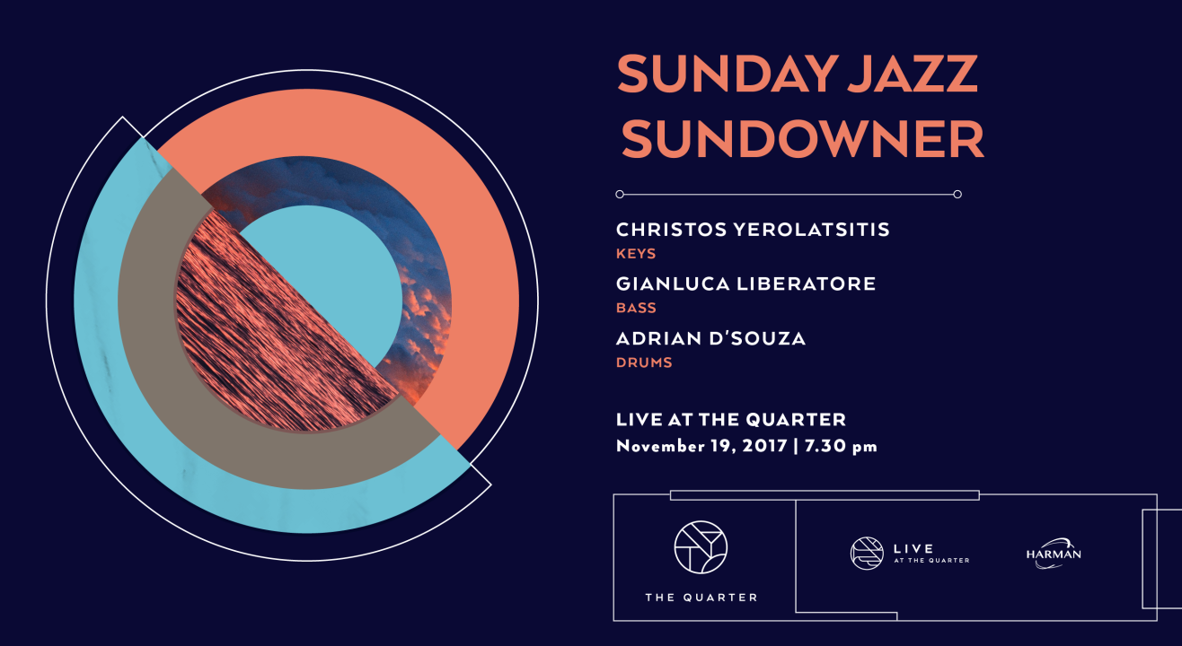 Sunday Jazz Sundowner at Live at The Quarter
