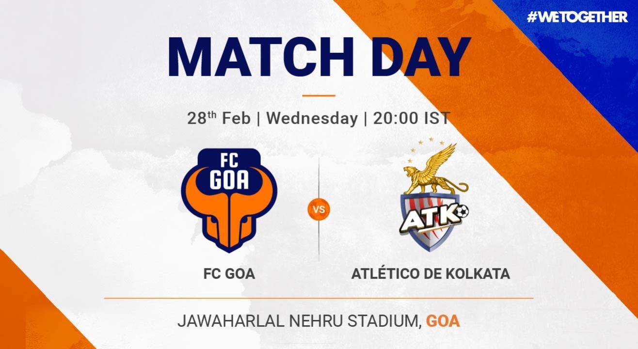 ISL: FC Goa VS ATK