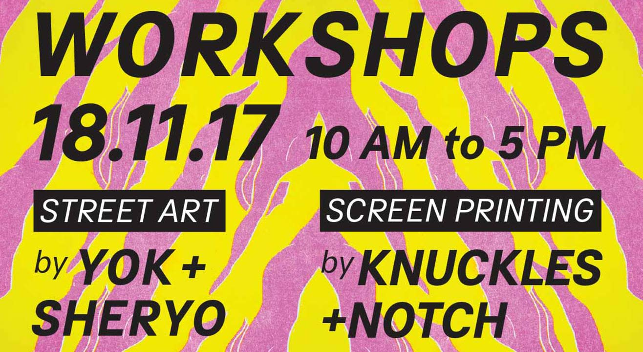 The Yok and Sheryo Street Art Workshop