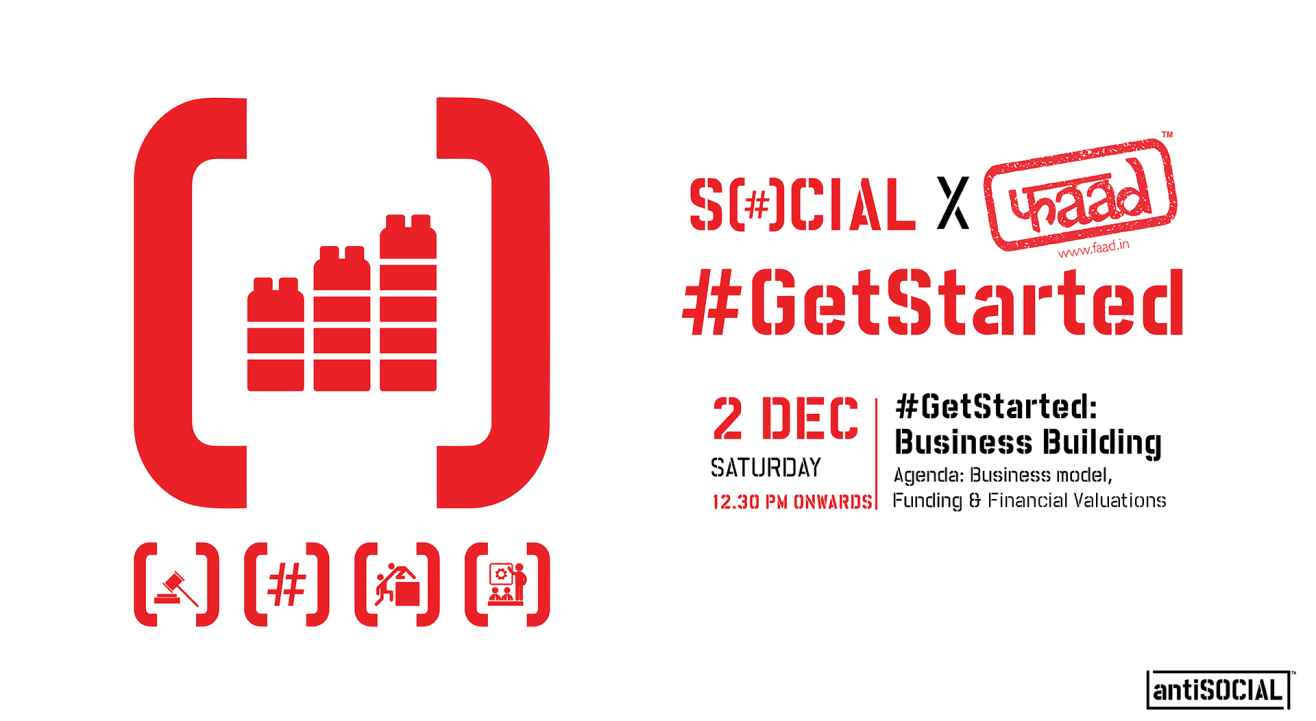 Social & Faad present #GetStarted: Business Building