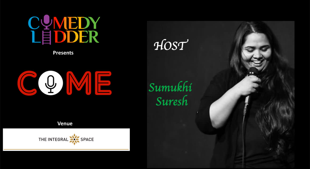 Comedy Ladder Presents 103 COME - Comedy Open Mic Evening