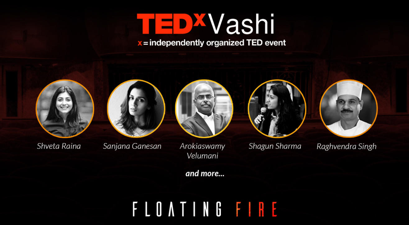 TEDxVashi - Floating fire