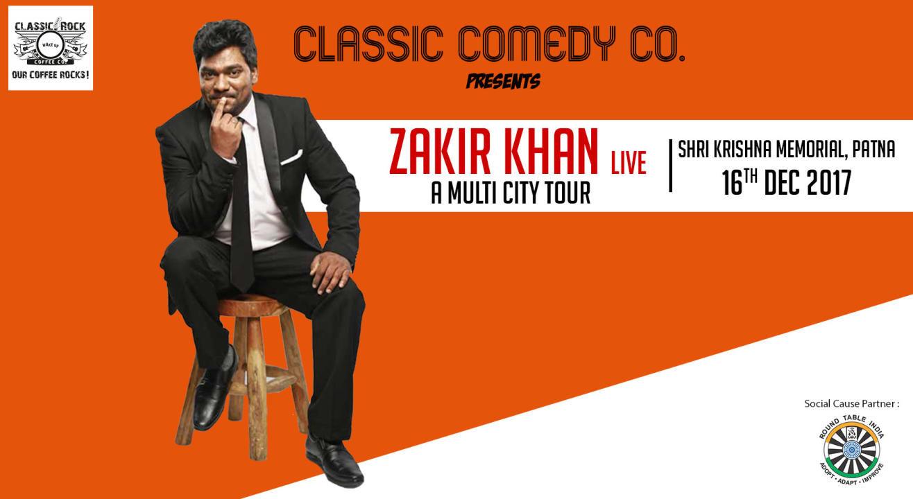 At Patna : Zakir Khan Live On Tour