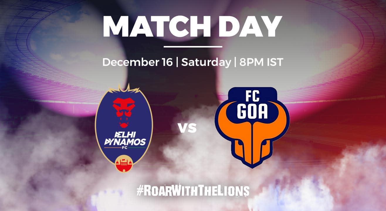 ISL: Delhi Dynamos FC vs FC Goa