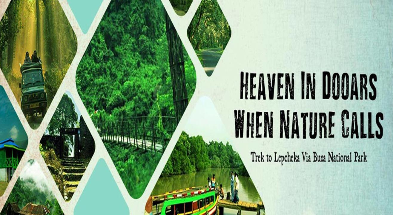 Heaven in Dooars when nature calls – Trek to lepcheka Via Buxa National Park.