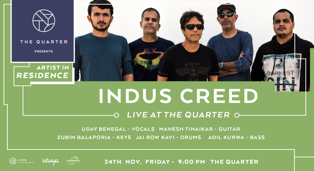 Indus Creed at The Quarter