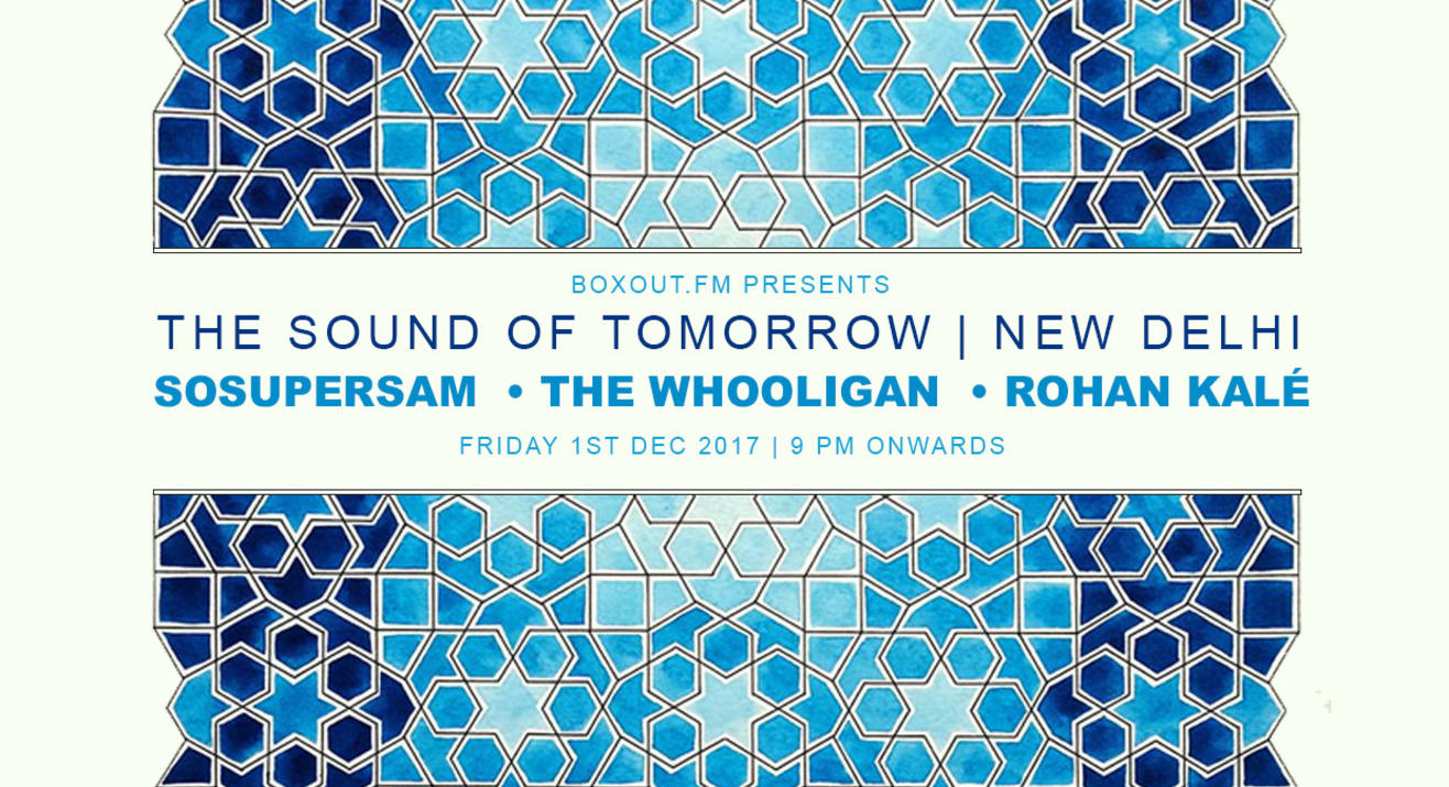 Soulection: The Sound of Tomorrow w/ SoSuperSam & The Whooligan