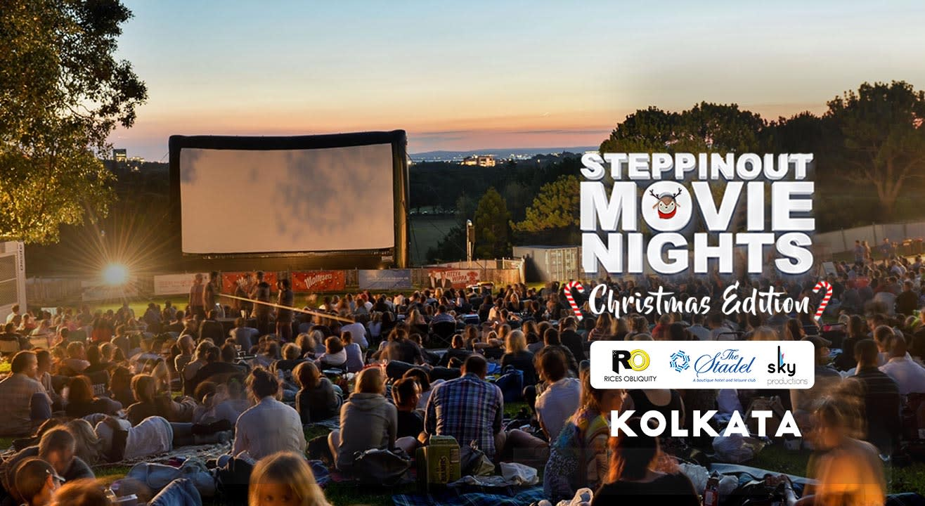 SteppinOut Movie Nights - Christmas Edition Kolkata