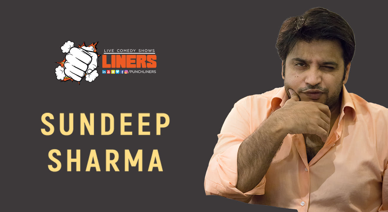 Punchliners: Standup Comedy Show ft. Sundeep Sharma in Hyderabad