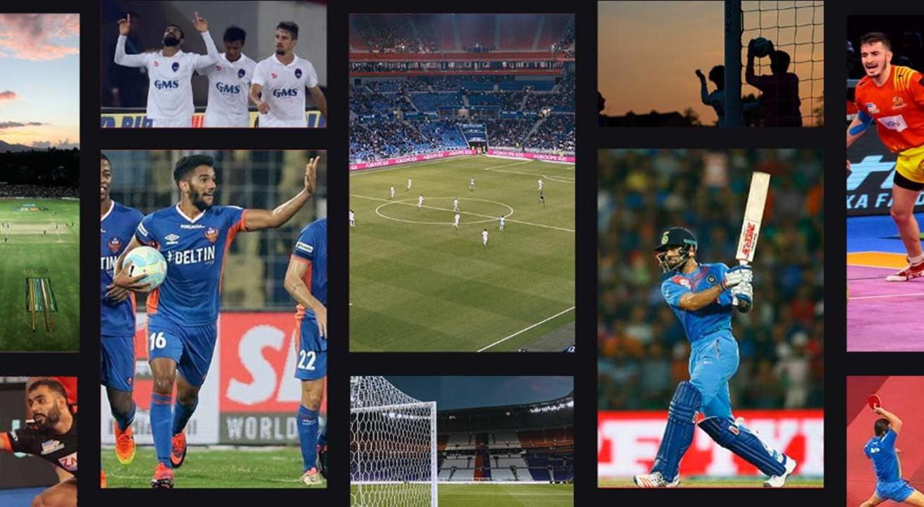 Book tickets to sporting events around India!