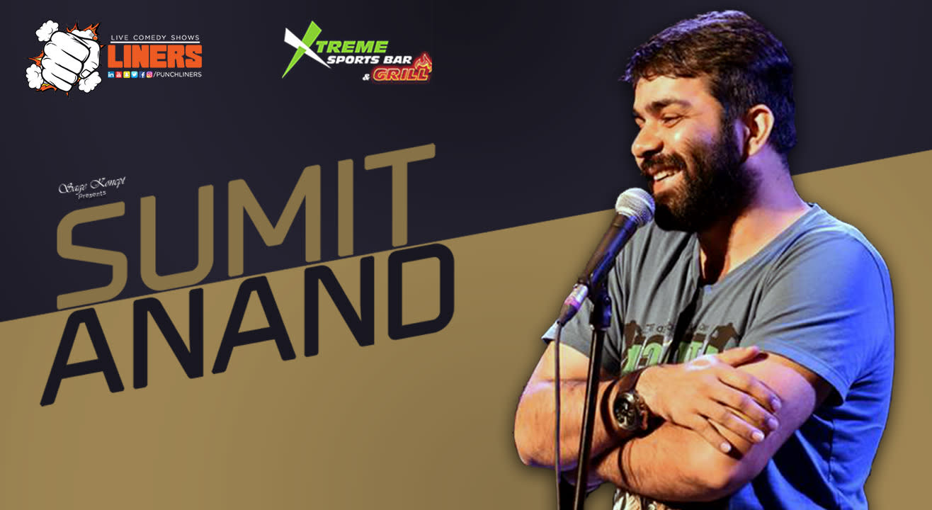 PunchLiners: Standup Comedy Show ft. Sumit Anand in Chandigarh