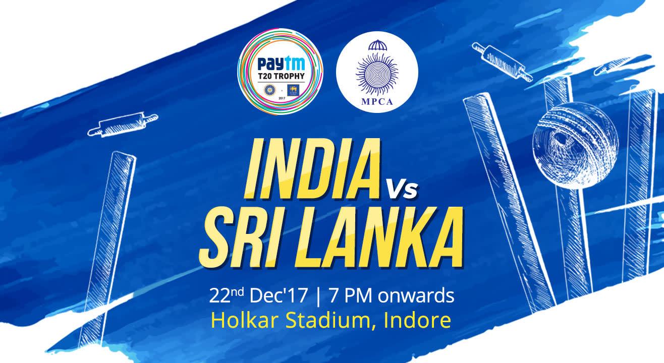 Paytm T20 Trophy - India Vs Sri Lanka
