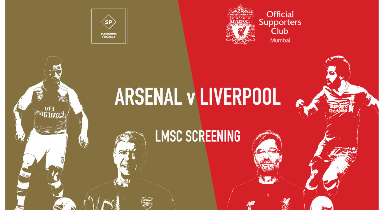 ad4ec44ee49 Book tickets to Arsenal v Liverpool Screening and Quiz