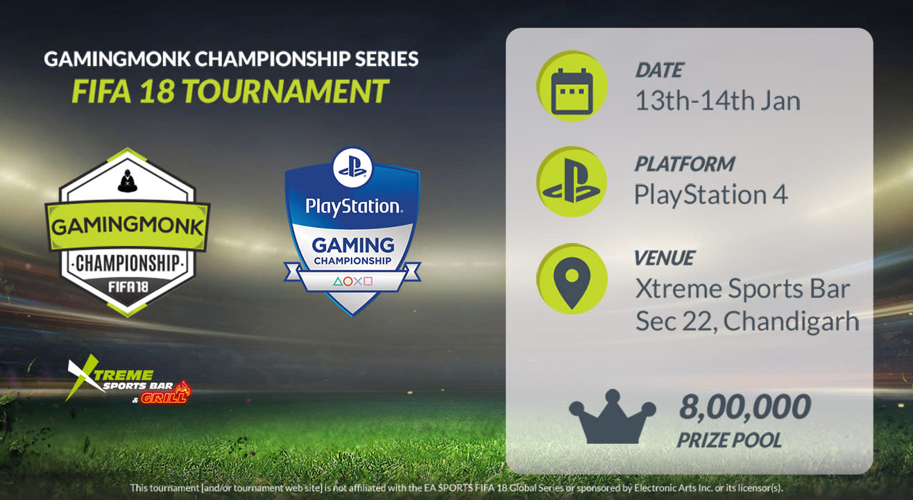 GamingMonk Championship Series - FIFA