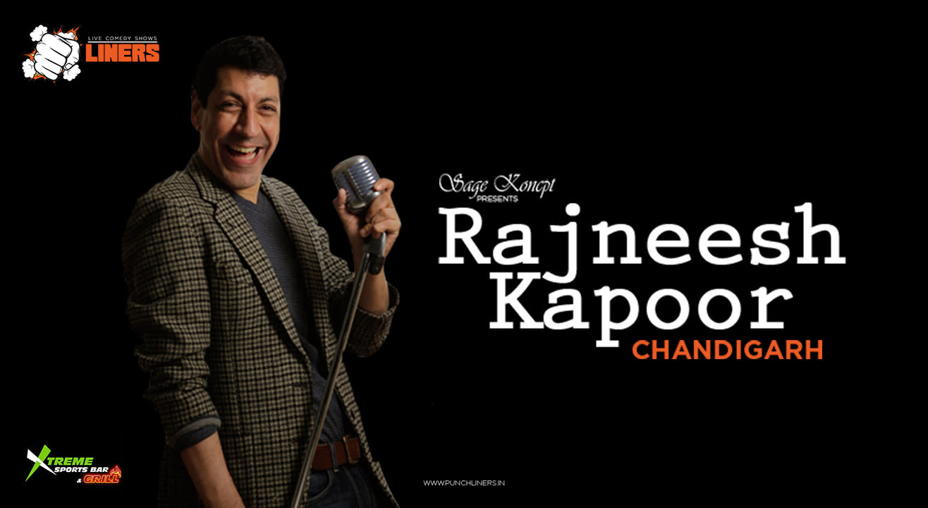 PunchLiners: Standup Comedy Show ft. Rajneesh Kapoor in Chandigarh