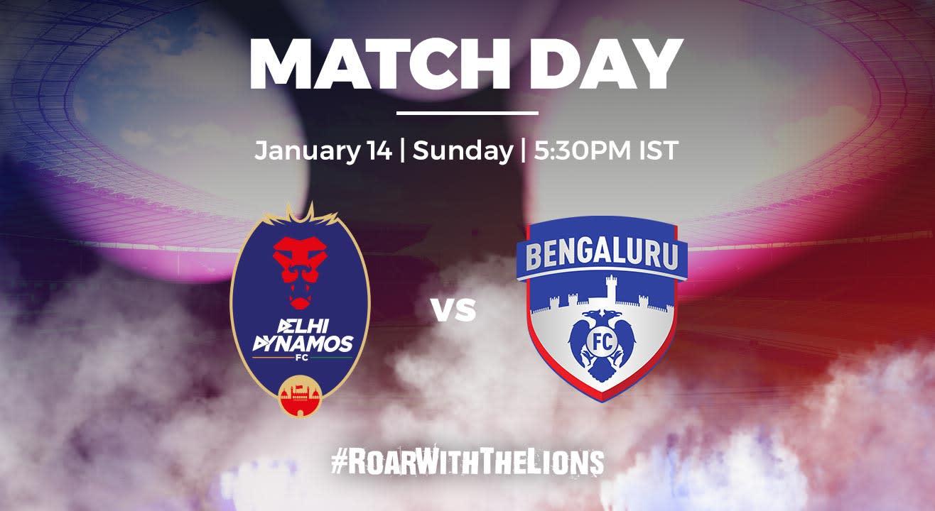ISL: Delhi Dynamos FC vs Bengaluru FC
