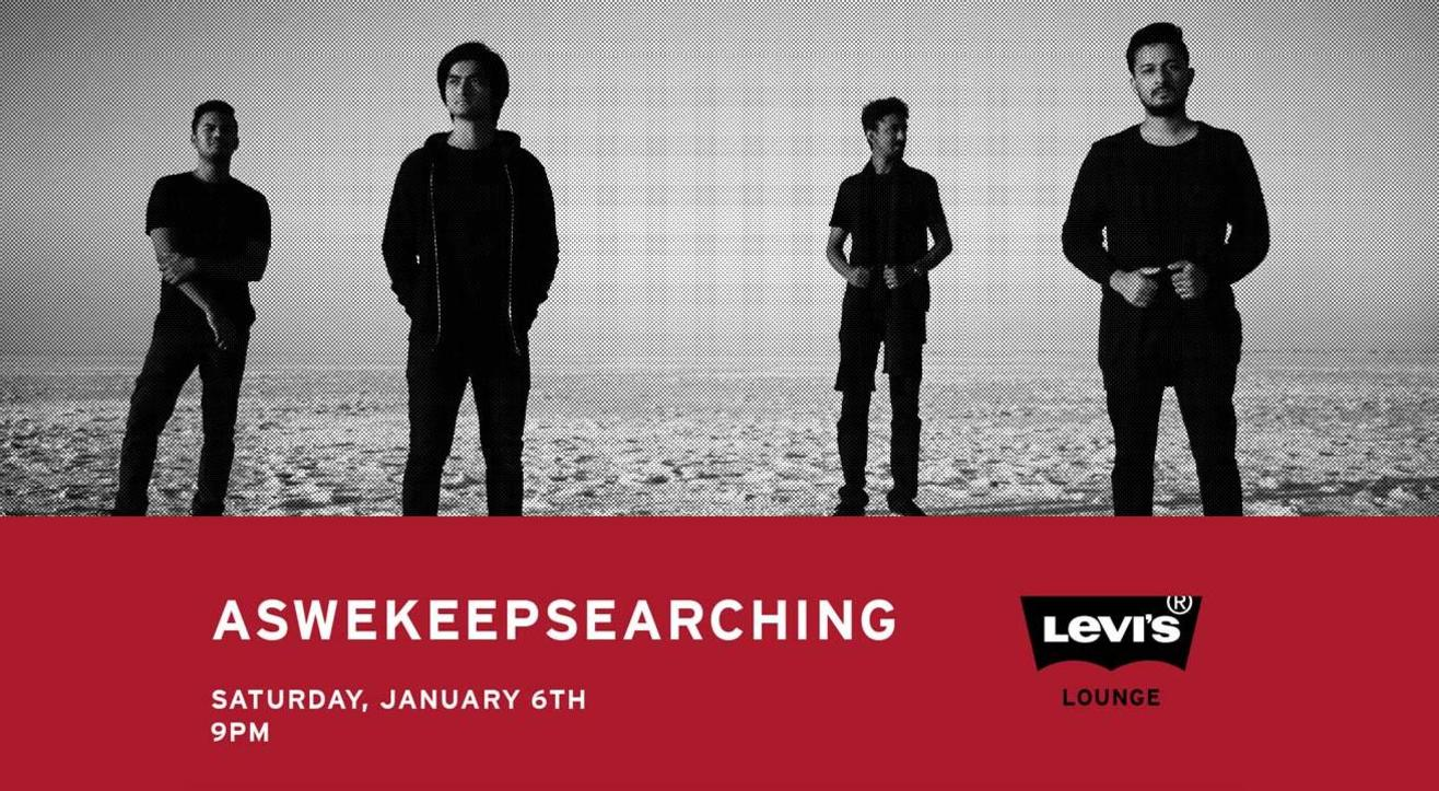 Aswekeepsearching – LIVE at Levi's Lounge