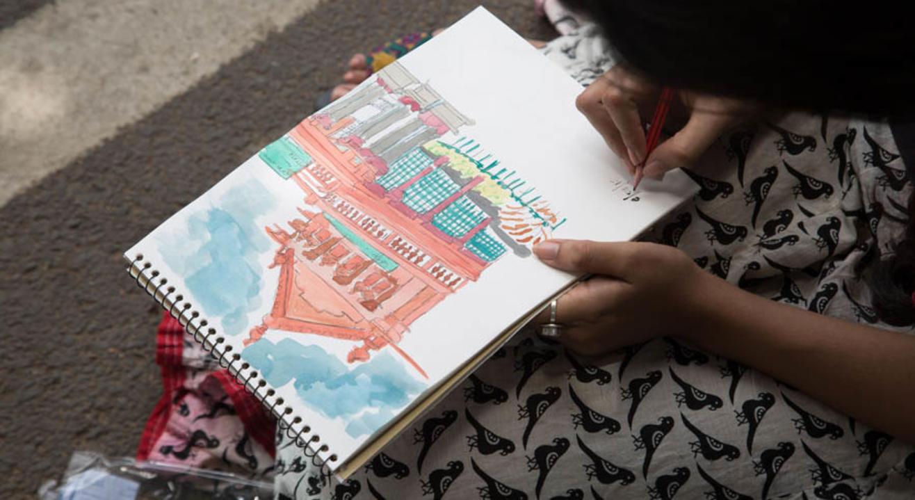 Travel Art Journal Workshop | Plan The Unplanned