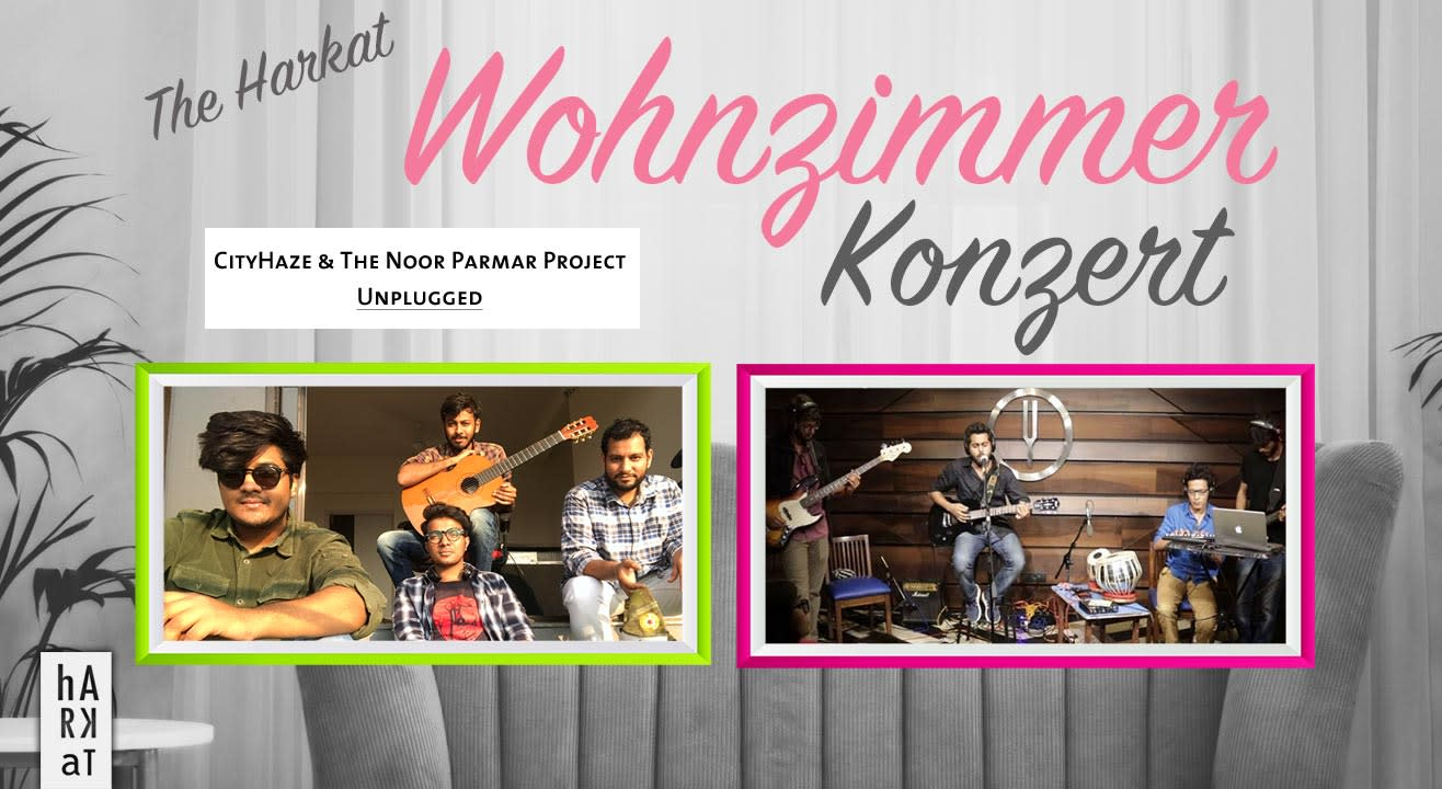 The Harkat Wohnzimmerkonzert ft. City Haze & The Noor Parma Project unplugged