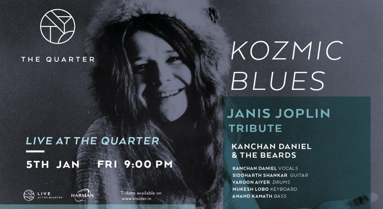 Kozmic Blues - Tribute to Janis Joplin at The Quarter