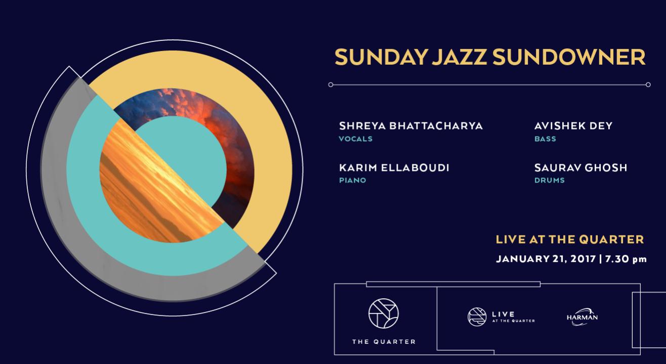 Sunday Jazz Sundowner at The Quarter