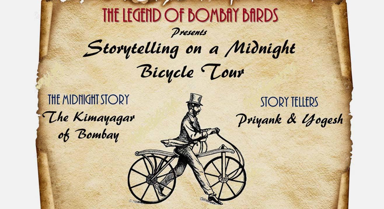 Midnight Cycle Ride & Storytelling : The Kimayagar of Bombay